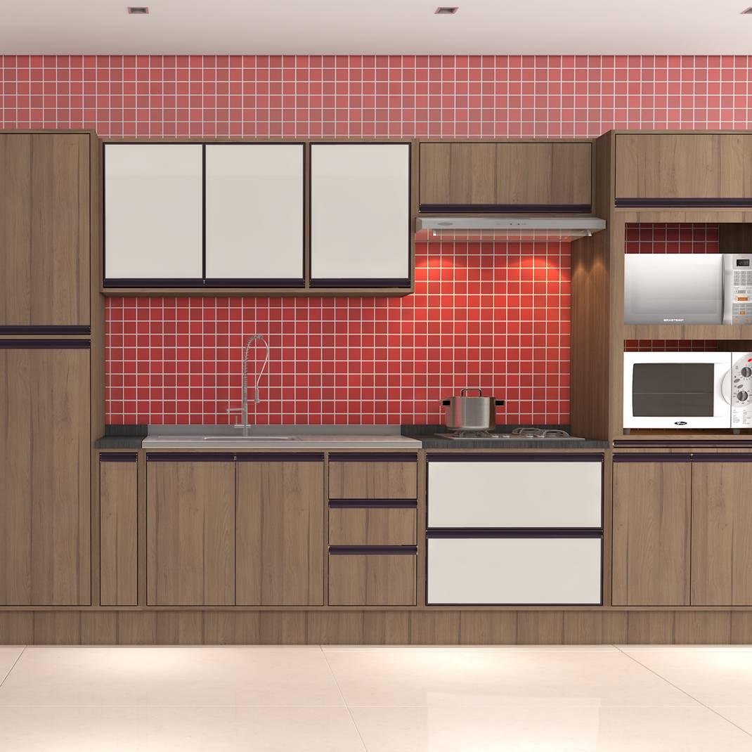 Cozinha Bromélia Modulada